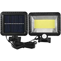1/2x 100 Led Solar Sensor Lights Light Motion Detection Security Garden Flood Lamp (1Pcs)