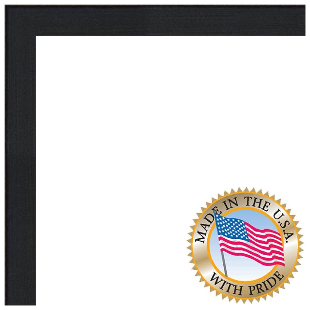 ArtToFrames 5x15 inch Black Stain on Maple Wood Picture Frame, 2WOM0066-81784-YBLK-5x15 by ArtToFrames