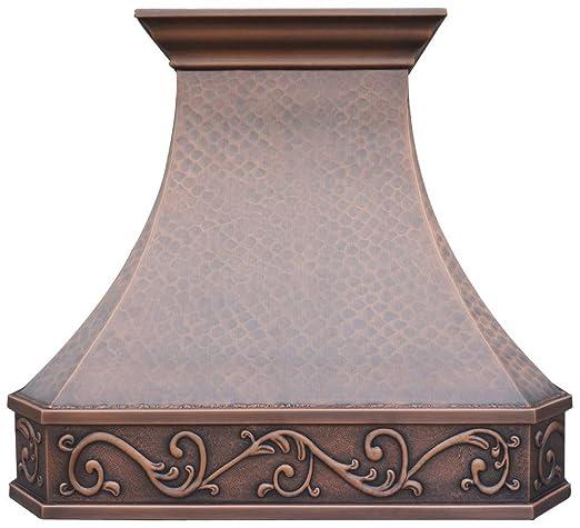 Amazon Com Copper Best Kitchen Range Hood With High Airflow