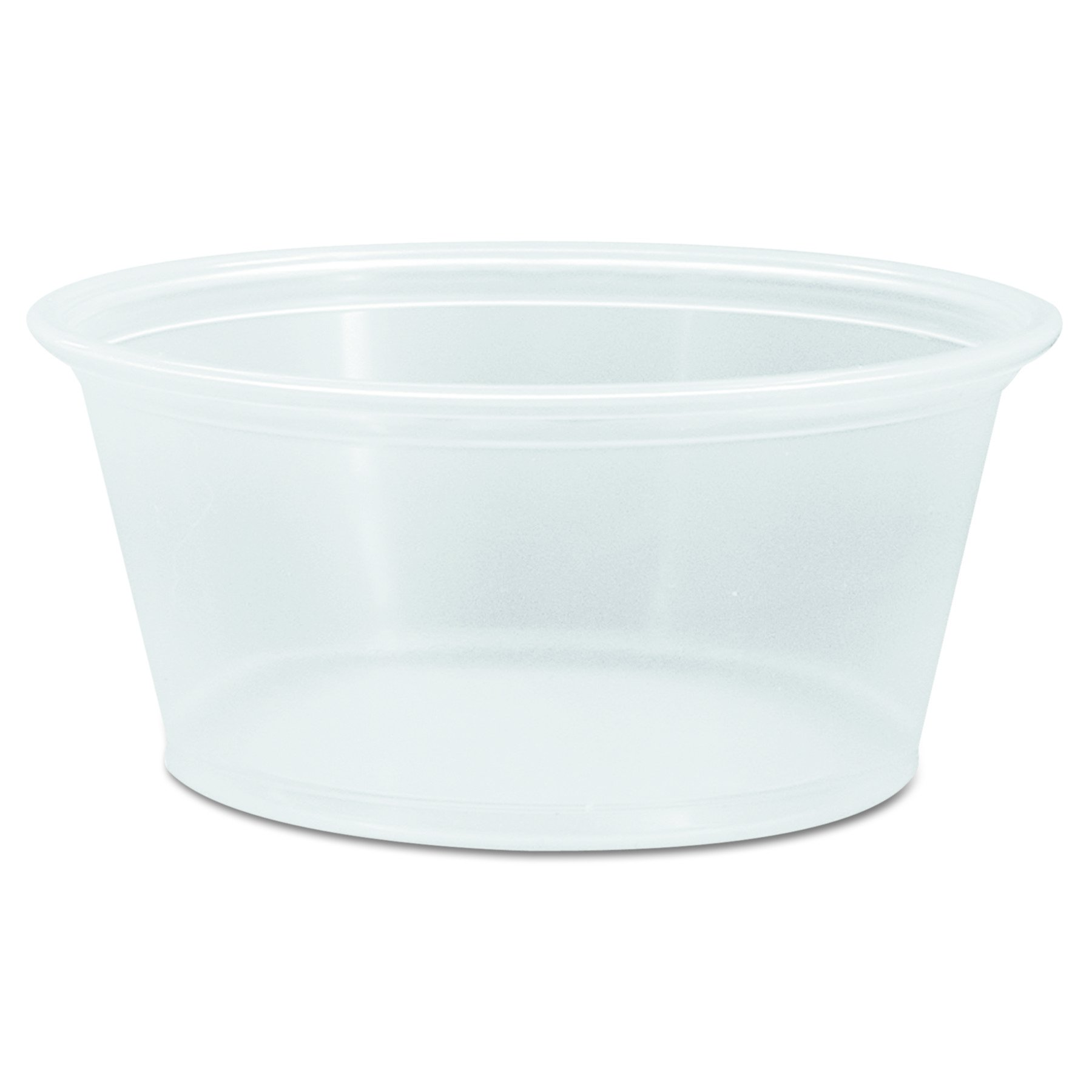 Dart 325PC 3.25 oz Clear PP Portion Container (Case of 2500) by DART