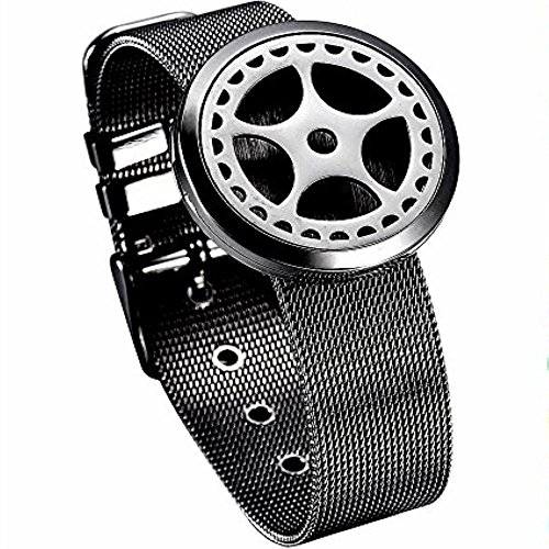 memorial jewelry Customized Stainless Steel Essential Oil Diffusing Perfume Locket Watch Wristband Bracelet from memorial jewelry