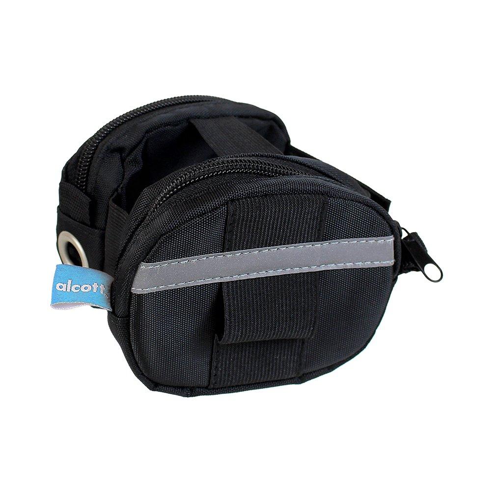 Alcott Retractable Leash Luggage for Large Leashes, Black ACC ES LG LL