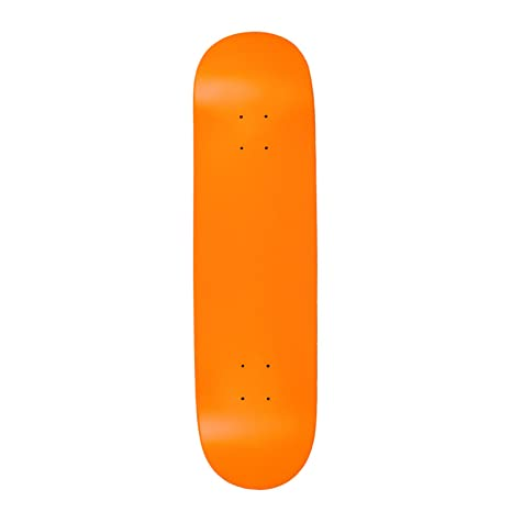 Amazon com : Moose Blank Skateboard Deck - NEON Orange