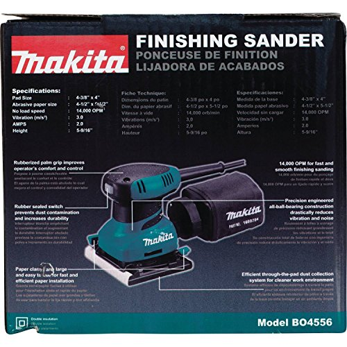 Makita BO4556 2 Amp Finishing Sander by Makita (Image #9)