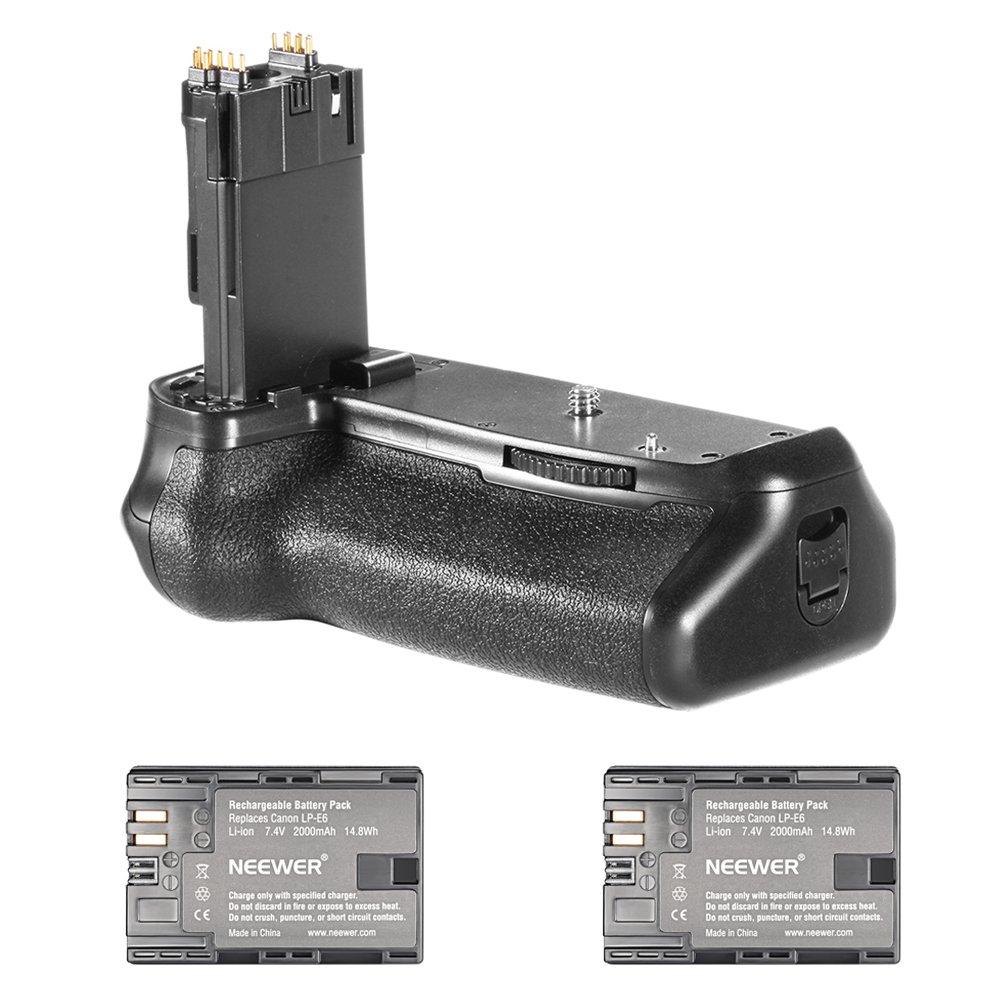 Neewer Grip Para Canon Eos 70d 80d Dslr