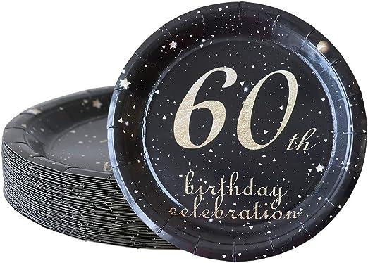 Amazon.com: Juego de 50 decoraciones de cumpleaños para ...