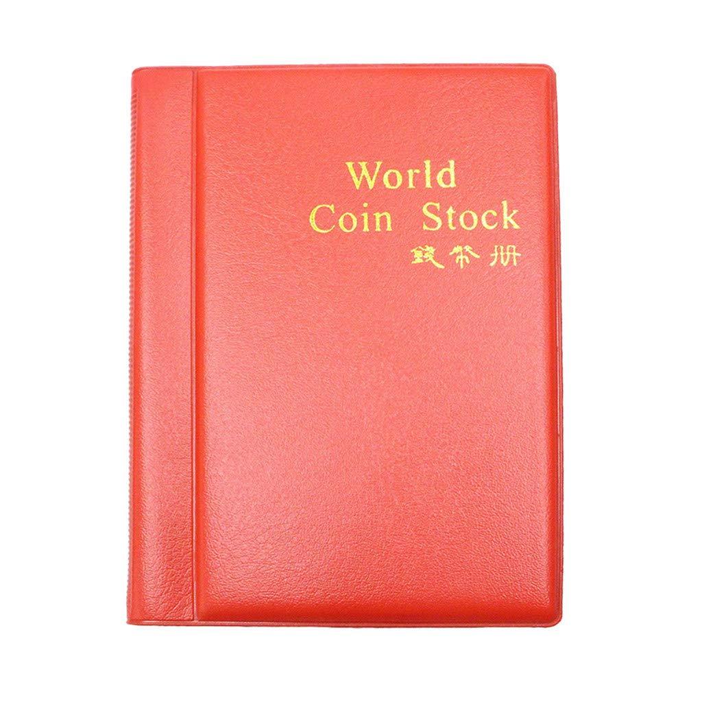 3cb5905bc5 Amazon.com  ❤ Lemoning ❤ New Collecting 120 Pockets World Coin Collection  Storage Holder Money Album Book (Blue)  Kitchen   Dining