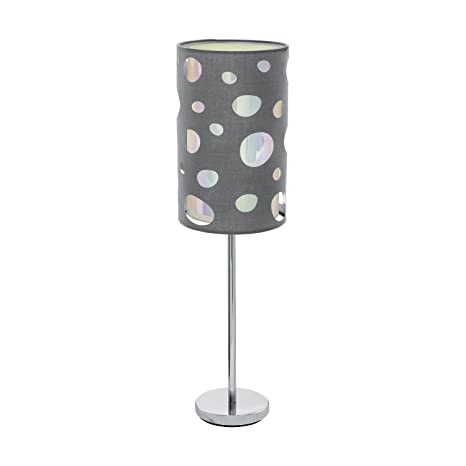 Moderna Lámpara de mesa (Cilindro, E27, Interruptor de ...