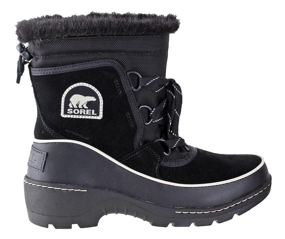 SOREL Women's Tivoli III Black/ Light Bisque Boot