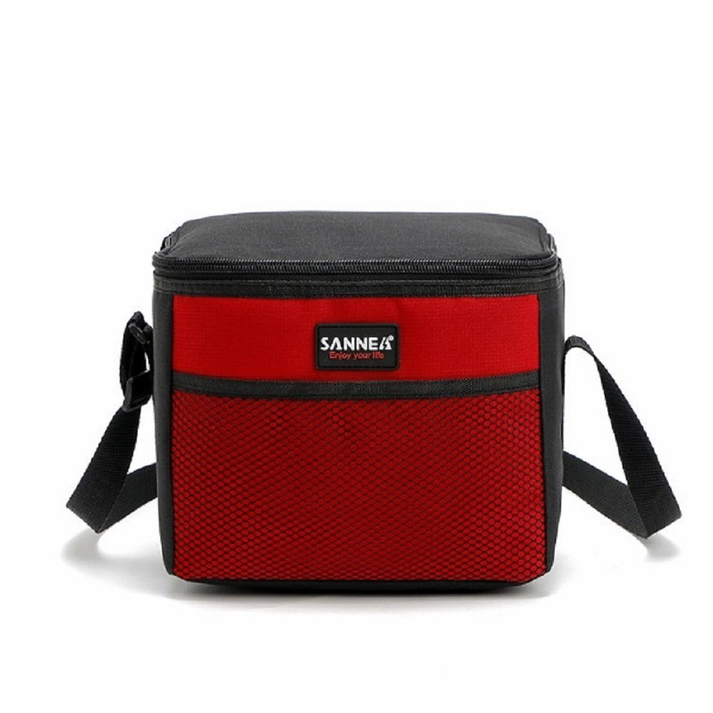 Lunch Box for Kids and Students, Insulated Lunch Bag Meal Prep Lunch Box for Men, Women Reusable Cooler Bag for School, Work (Red)