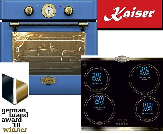 Kaiser EH 6424 BluBe KCT6395 IEm - Juego de horno para inducción ...