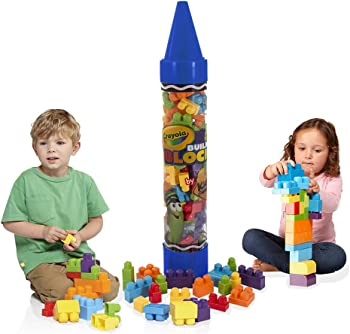Crayola Kids at Work 80pc Blocks