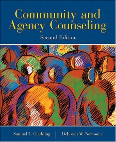 Community and Agency Counseling (2nd Edition)