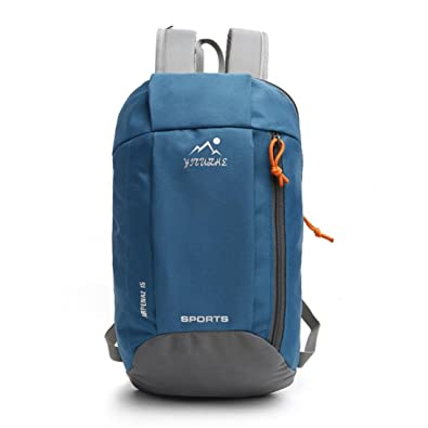 Casual Backpack For Womens Men EUzeo Durable Waterproof Shoulder Bag Nylon  Rucksack Travel Bags Clearance Sale (Blue)  Amazon.co.uk  Shoes   Bags 7629123f8c