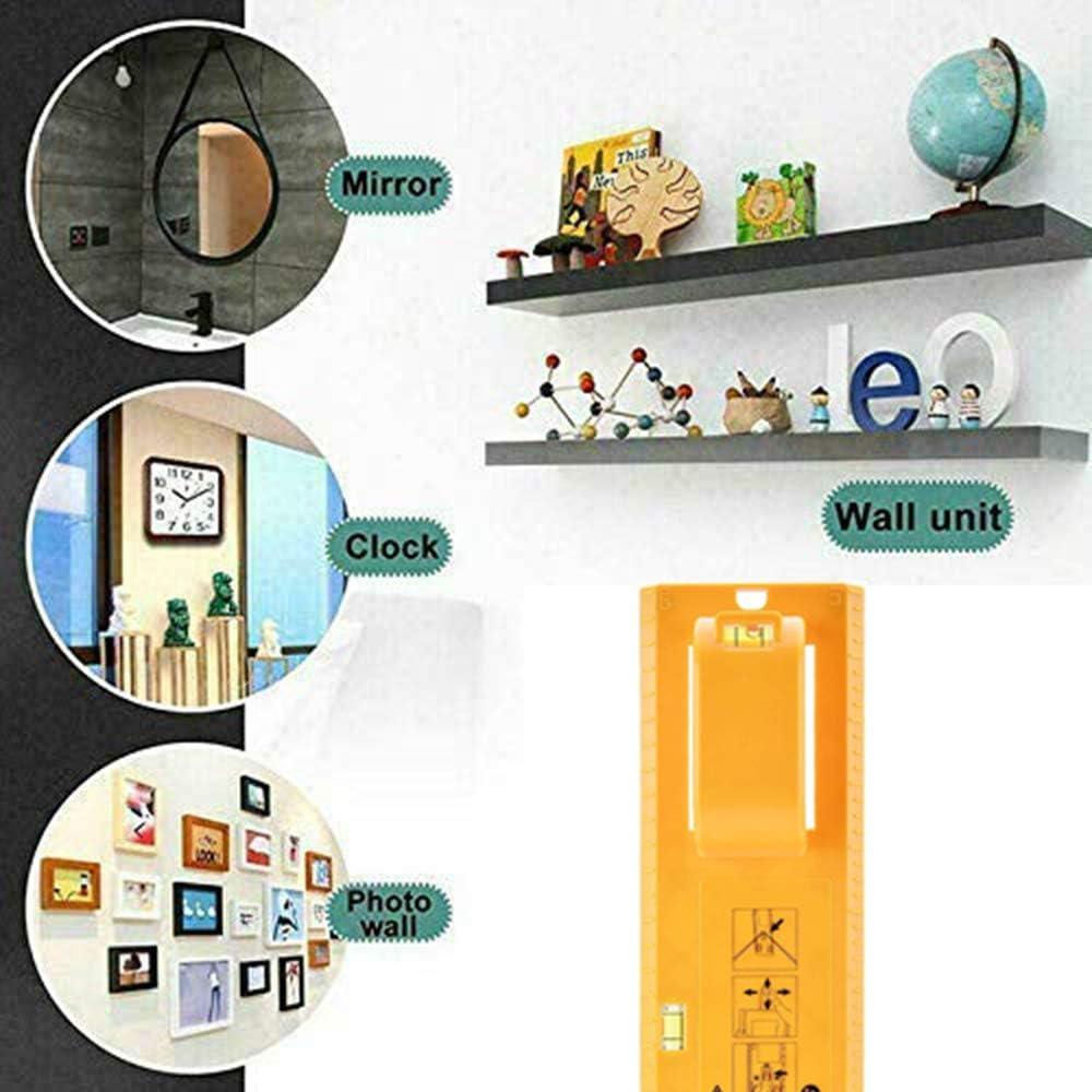 galeries Pour accrocher un cadre Montage vertical et horizontal Outil de suspension pour tableau Montage simple et rapide regroupements Starlife horloges et miroirs