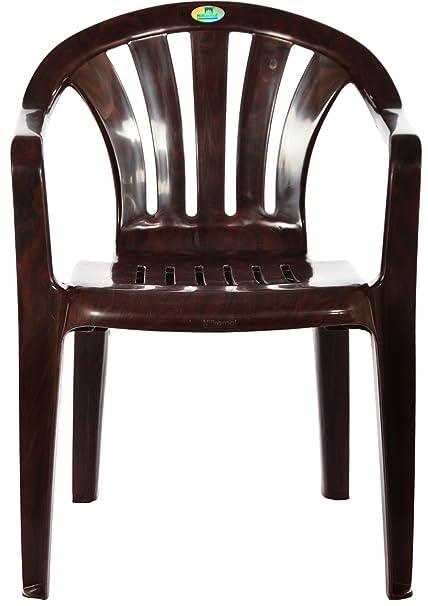 Nilkamal Arm Chair (Brown)