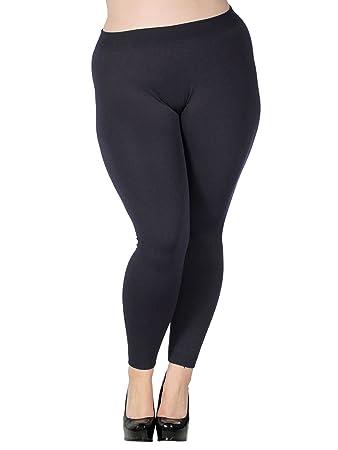 8c84efe169cfa Simplicitie Womens Premium Ultra Soft High Waist Leggings - Heather Grey, X- Large -
