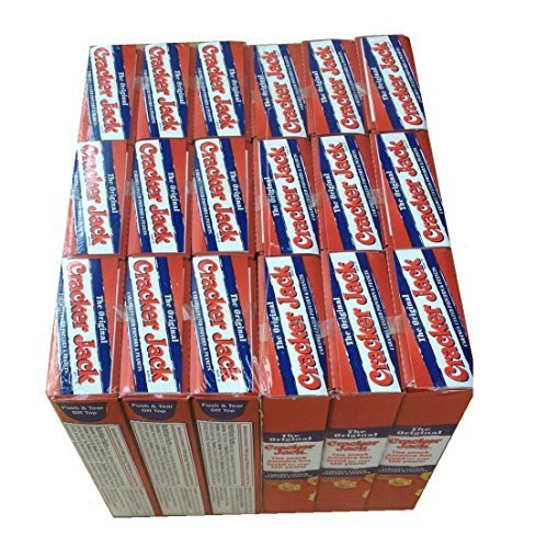 (Cracker Jacks Boxes Original 18 Packs of 1 Oz Caramel Coated Popcorn & Peanuts Prize in Every Box)