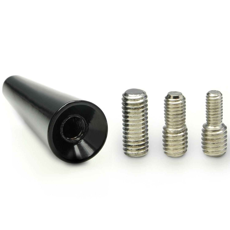 Universe Adaptateur antenne de toit voiture de courte Tige Adaptateur dantenne 16/V 5/cm VOITURE pour Citroen Noir