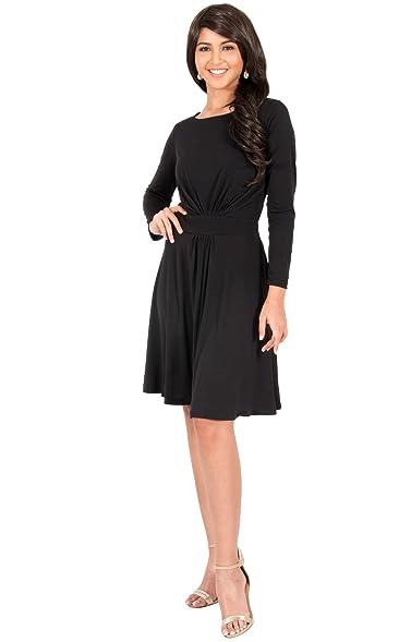 Black flowy formal dresses