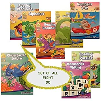 Amazon.com: 1st Grade 8 Book Set Educational Activity Workbooks ...