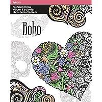 Artzone Trends International Boho Coloring Book
