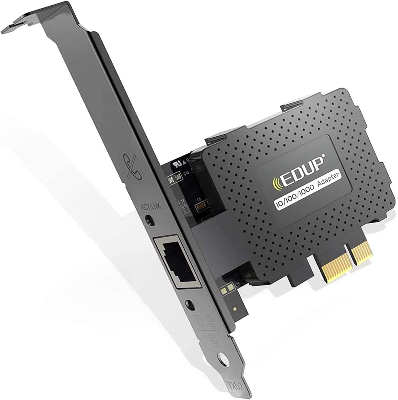 Edup Gigabit Ethernet Pci Express Pci E Netzwerkkarte Computer Zubehör