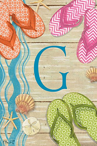 Flops Boardwalk Monogram Double Garden