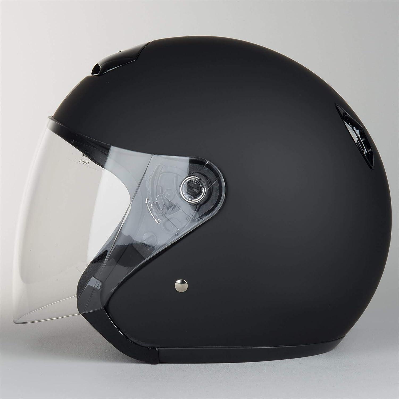 IXS Jethelm HX 118 Farbe matt-schwarz 61//62 Gr/ö/ße XL