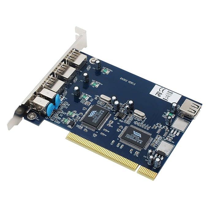 Amazon.com: Sedna – PCI USB 2.0 + 1394 Combo adaptador ...