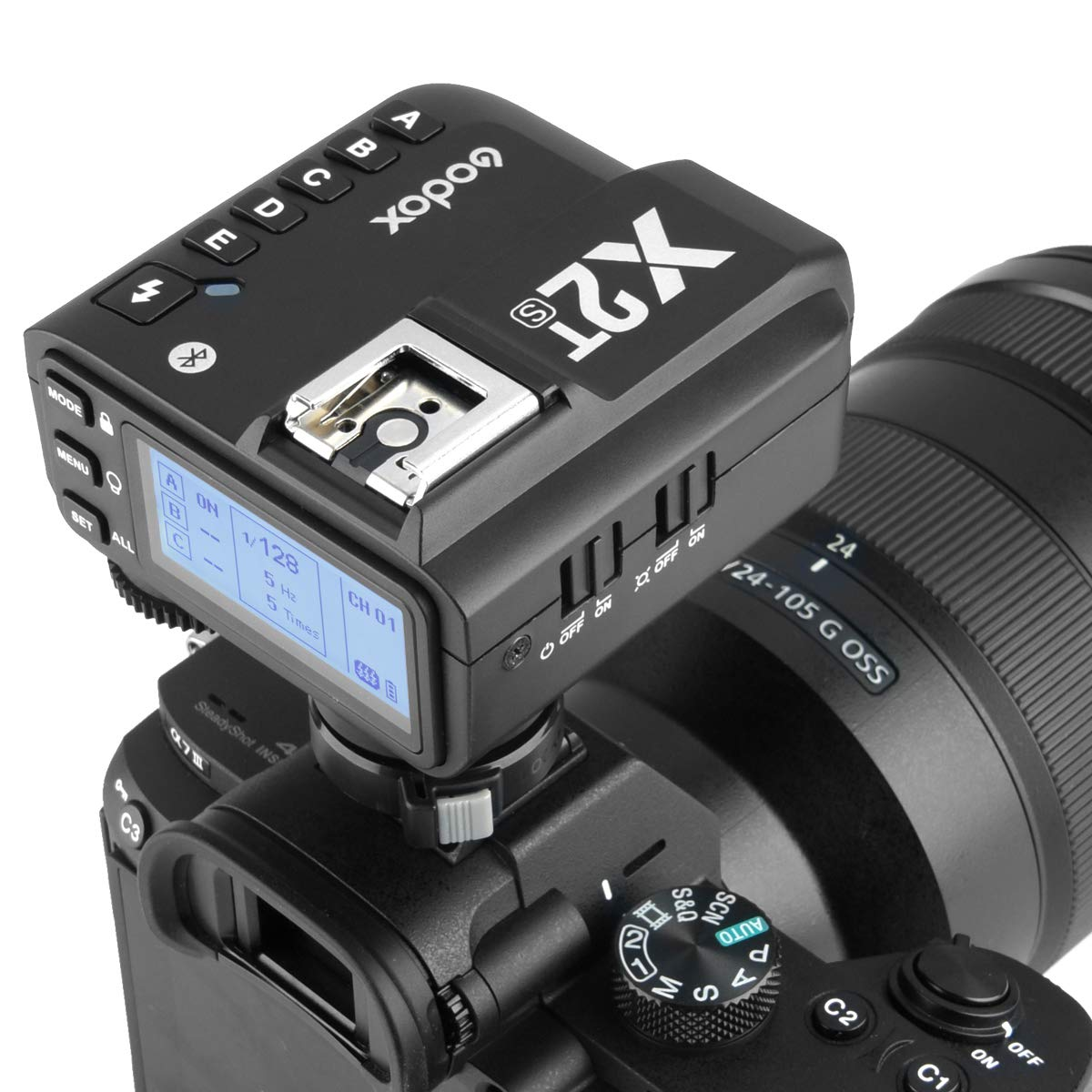 Godox X2T-S TTL Wireless Trigger, 1/8000s High-Speed Sync 2.4G TTL Transmitter, Compatible with Sony DSLR (X2T-S) by Godox (Image #7)