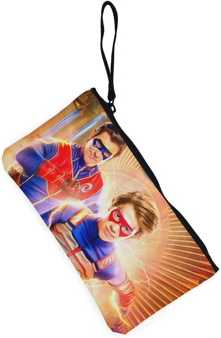 Henry Danger Canvas Coin Purse Print Card Holder Clutch Bag Coin Bag