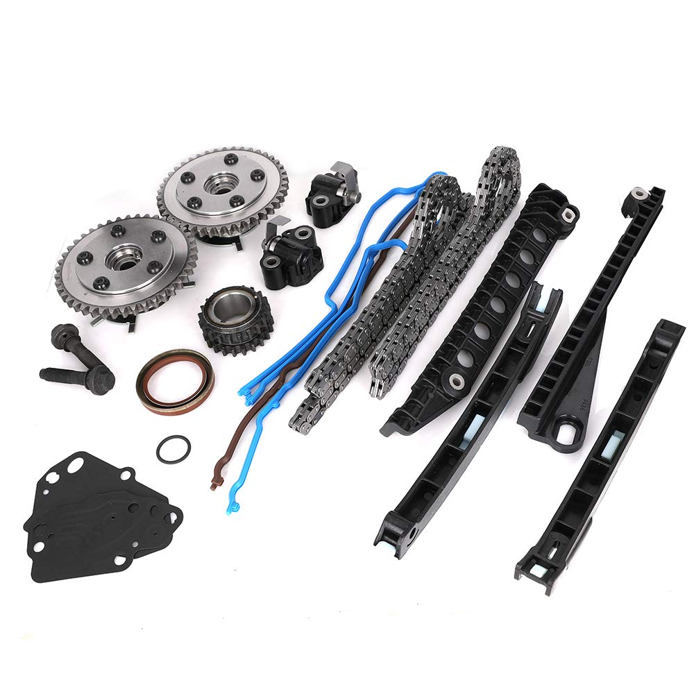 Engine Timing Chain Kit with Camshaft Drive Phaser Repair