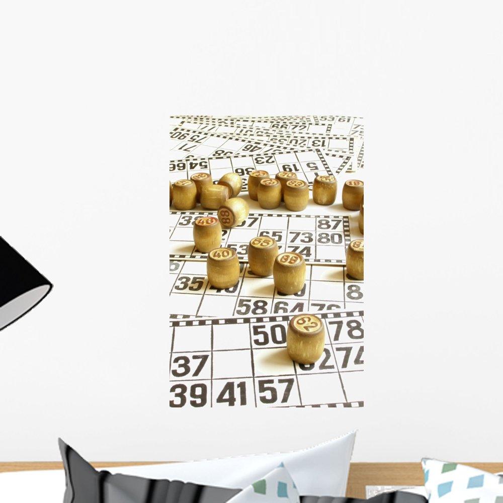 Wallmonkeys Bingo Wall Mural Peel and Stick Graphic (18 in H x 12 in W) WM304343 by Wallmonkeys