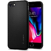 Spigen Liquid Air Serisi Kılıf iPhone 7/8 ile Uyumlu / TPU AirCushion Teknoloji / Ekstra Koruma - Black