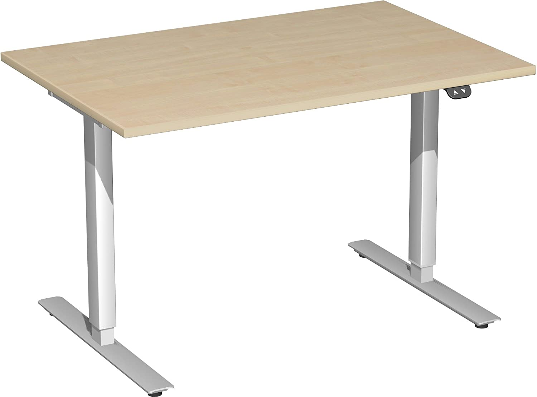 Regulable en altura escritorio Valencia ejecución: gris claro ...