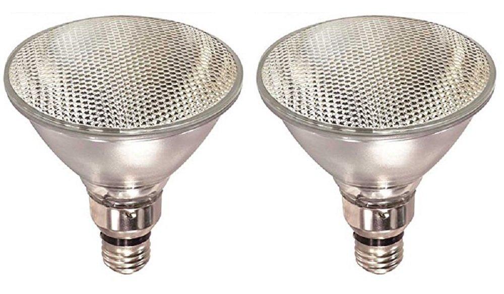 Pack Of 2 70PAR38/FL 120V 70 Watt High Output (90W Replacement) PAR38 Flood 120 Volt Halogen Par 38 Light Bulbs