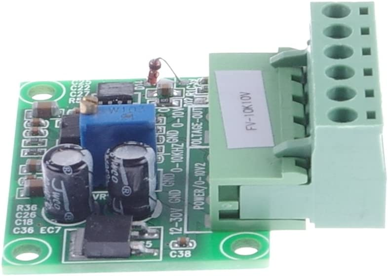 0-500HZ to 0-10V KNACRO Frequency to Voltage Conversion Module 0-500Hz to 0-10V F//V Conversion Module Digital to Analog Converter Module