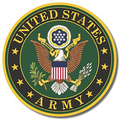 [해외]미국 육군 미국 백색 광택 고급 비닐 범퍼 스티커/US Army USA white gloss high grade vinyl bumper sticker