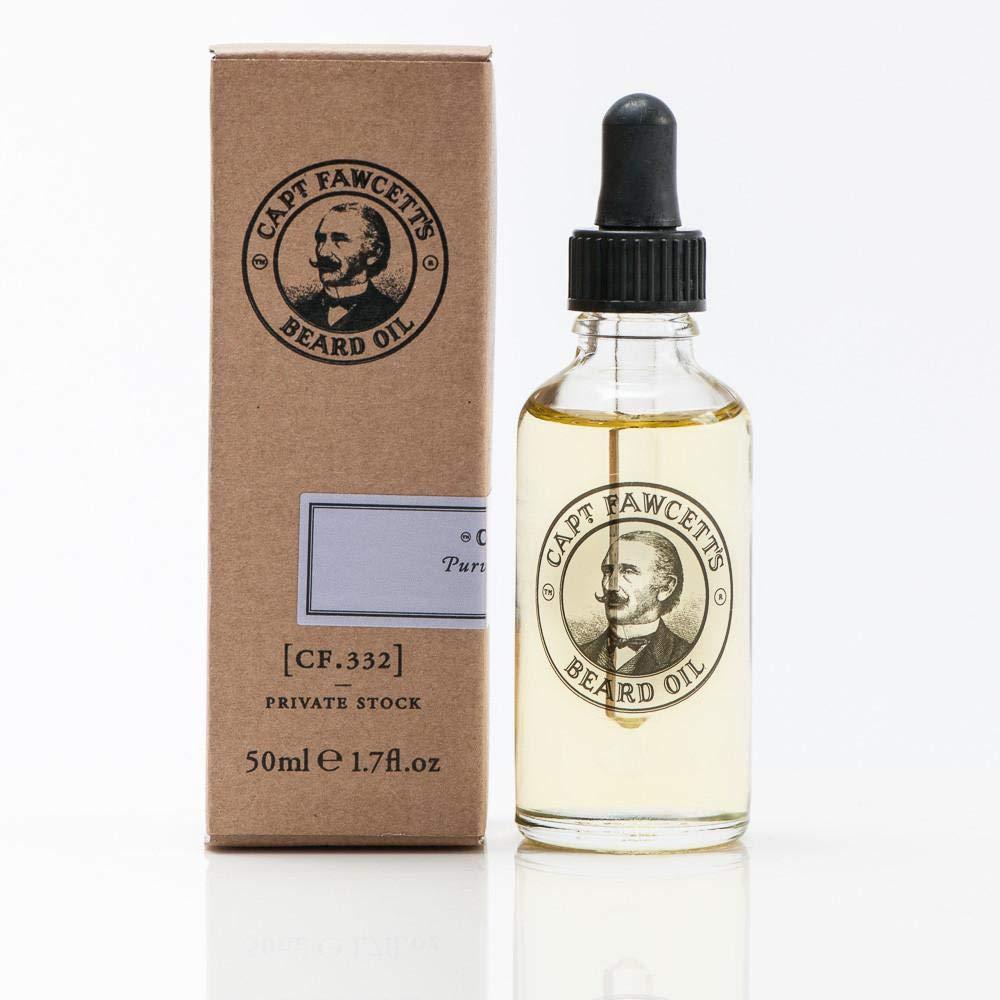Captain Fawcett Beard Oil Unknown