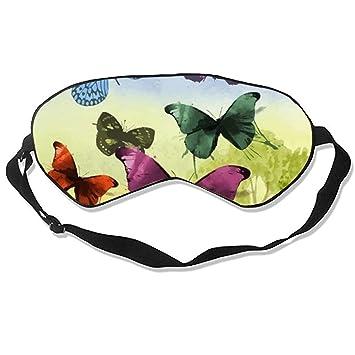 Amazoncom Good Night Sleep Mask Butterfly Garden Eye Cover