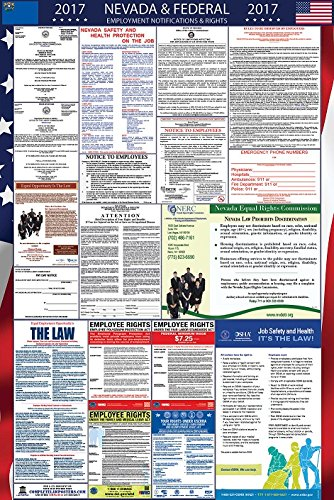 2017 Nevada and Federal Labor Law Poster Laminated