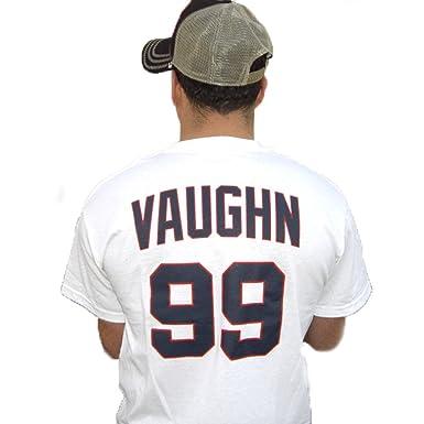 Amazon.com  MyPartyShirt Rick Wild Thing Vaughn  99 Jersey T-Shirt ... 81bab3479