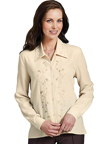 2d831457393d2 Chums Ladies Womens Embroidered Blouse  Amazon.co.uk  Clothing