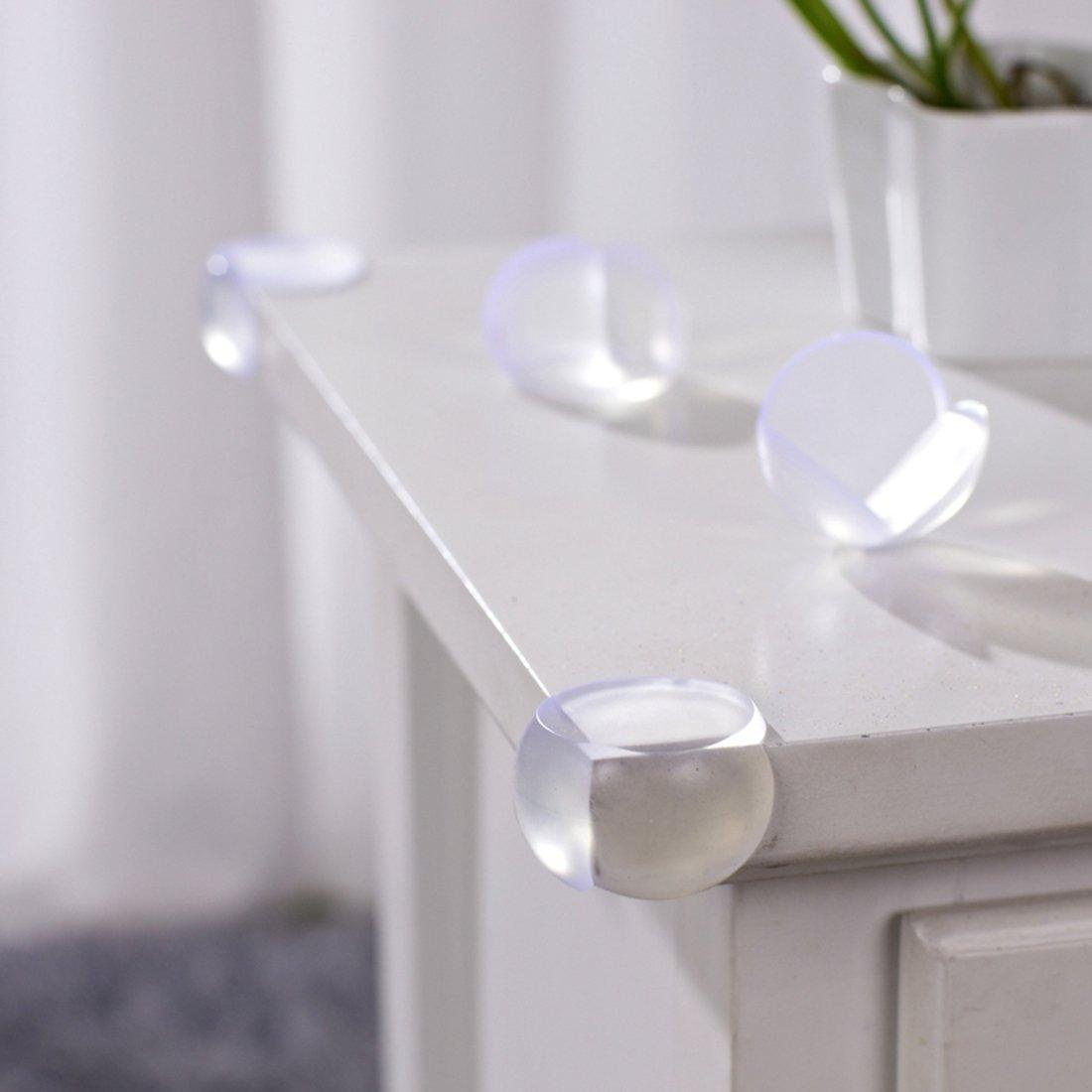 10pcs Baby Kid Table Desk Shelf Ball Corner Edge Cushions Protector Guard Safety