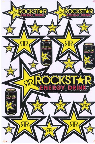 energy drink sticker sheets - 6