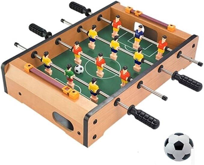 WAWDZG Futbolín Máquina Juguetes For Niños Futbolín Tabla 4 Tabla Juego De Fútbol De La Interacción Entre Padres E Hijos Juguetes Inteligentes: Amazon.es: Hogar