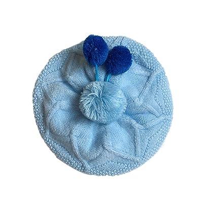 Changeshopping New Toddler Kids Girl Boy Infant Crochet Knit Hat 0-6 Month