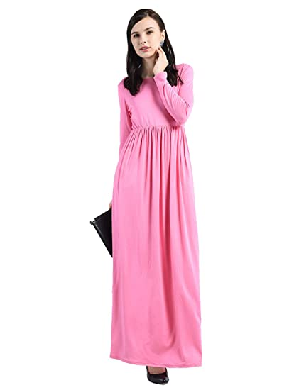 7733328d3aae AARA Women s One Piece Maxi Dress Full Length Maxi Female Dress One Piece  Dress
