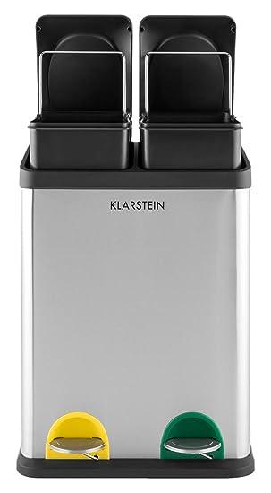 klarstein Ökosystem poubelle de cuisine écologique pour tri ... - Poubelle Cuisine Tri Selectif